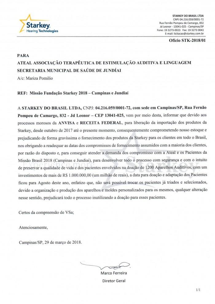 Oficio Ateal Fundação 201801